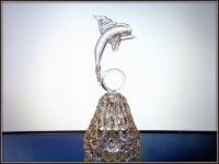 Хрустальный колокольчик Дельфин