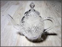 Хрустальный чайник 1л Алмаз