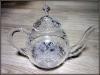 Хрустальный чайник 1л Герб